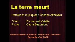 La terre meurt (Charles Aznavour)