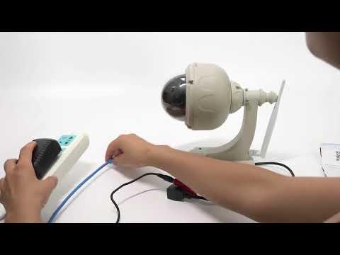 Floureon wireless 720p 4X ZOOM IP Camera with TF Card Slot