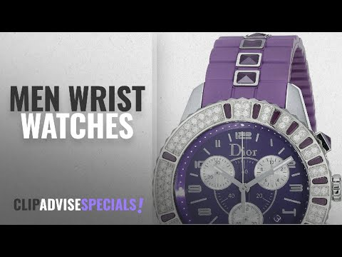 Dior Wrist Watches [ Winter 2018 ]: Christian Dior Unisex CD11431JR001 Christal Chronograph Diamond