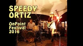 Speedy Ortiz performs new songs LIVE at OnPoint Music & Arts Festival