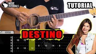Cómo Tocar Destino De Greeicy, Nacho En Guitarra | Tutorial + PDF GRATIS