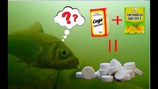 Таблетки для рыбалки шипящая прикормка своими руками