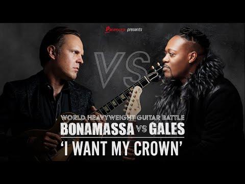 Eric Gales - I want my Crown  (Feat. Joe Bonamassa) - Official Music Video