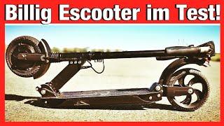 ★BILLIGSTER 30km/h ESCOOTER im TEST★ Eroller, Elektroroller, Anleitung, Review (DEU-GER)