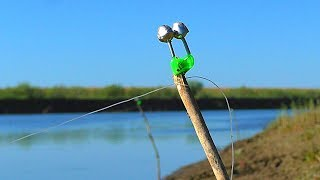РЫБАЛКА НА ЗАКИДУШКИ. самая простая снасть на сазана, всегда выручает. Рыбалка на сазана.