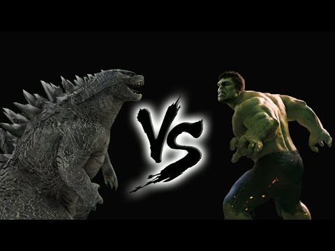 Godzilla vs Hulk (Fan Made Trailer)