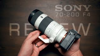 SONY 70-200 F4   SONY Zoom Lens REVIEW