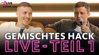 Gemischtes Hack LIVE: Teil 1 mit Felix Lobrecht und Tommi Schmitt | 1LIVE Krone 2020