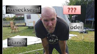 Unboxing Camping: Backofen, Wäschespinne, Tankreinigung,... | Sonnensegel basteln | die T's