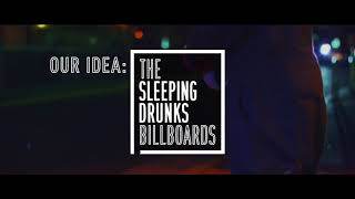 The Sleeping Drunks Billboard by Yaocho Bar Group #NOMISUGI