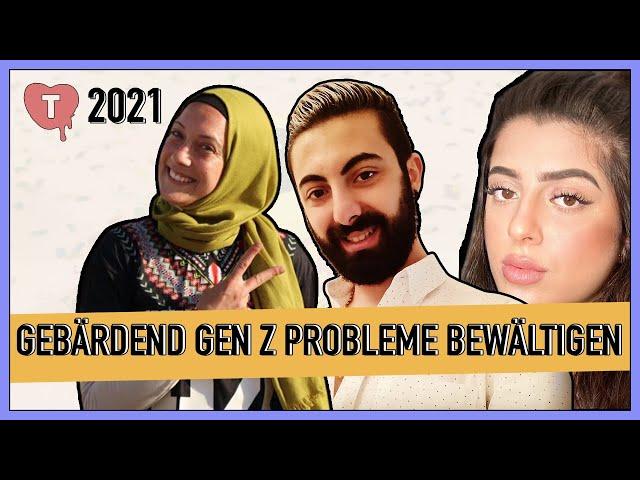 Vorschaubild zur Session 'Meine Flucht & meine Zukunft: Gebärdend Generation Z-Probleme bewältigen'
