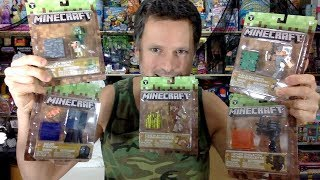 Jazwares Minecraft Series 3 Wave 3 Action Figures Unboxing Review