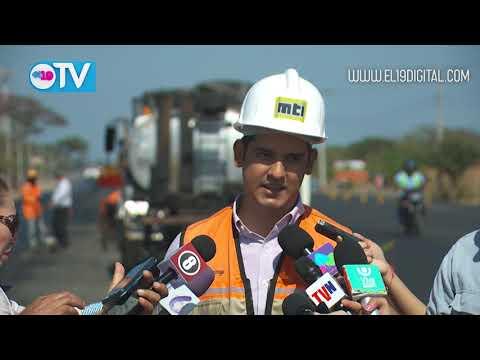 Ampliación de carretera Ciudad Sandino-Mateare mejorará conectividad