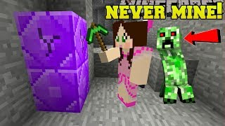 Minecraft: *NEVER* MINE AT NIGHT! - DON'T MINE AT NIGHT - Custom Map