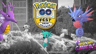 Horsea  - (Pokémon) - OFICIAL: HORSEA SHINY con MAYOR SPAWN MUNDIAL por el GO FEST CHICAGO   Pokémon GO