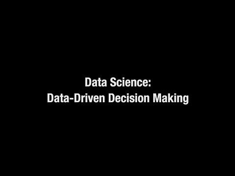 Data Science: Data-Driven Decision Making - Monash ... - YouTube