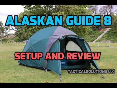 Cabelas Alaskan Guide 8 Person Tent – Review/Setup HD
