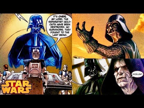 How Darth Vader Reacted to the Empire's Use of Slaves