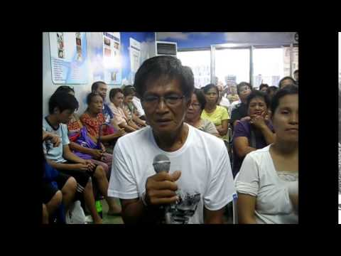 Pagtuturo sa programa Mawalan ng Timbang sa isang Linggo