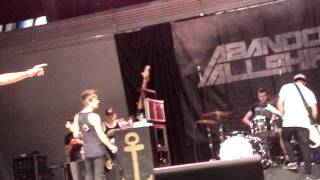 Abandon All Ships- Maria [I Like It Loud] (Live in Mississauga)