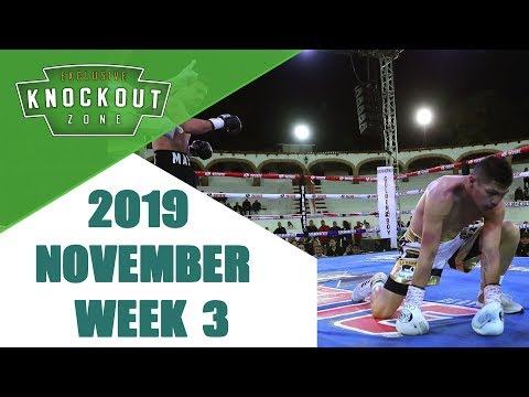 Boxing Knockouts | November 2019 Week 3