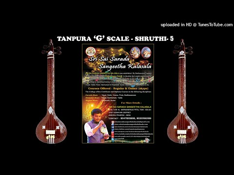 SSSK Tanpura G Scale Shruthi 5 Mp3
