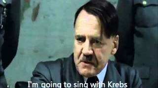 Hitler plans to sing