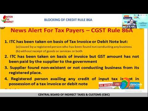 Taxpayers, join the webcast on GST return filling