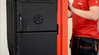 KOVARSON - Montáž automatického kotle PANTHER