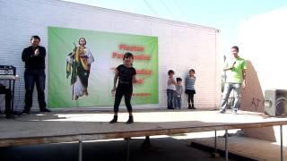 preview picture of video 'Lupita Moya concursando en las Fiestas patronales de San Judas Tadeo. Primera Parte'