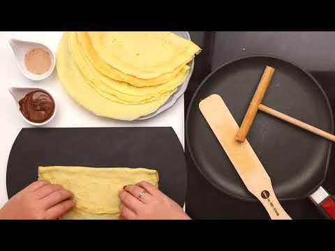 Crêpes Rezept / Pfannkuchen Rezept WOLL