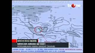 Penjelasan Kepala BMKG Saat Air Asia QZ8501 Hilang Kontak