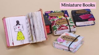 How To Make DIY Miniature Note Books From One Sheet Paper !!! Easy Paper Craft Idea By Aloha Crafts