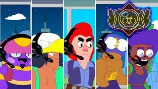 BRAWL STARS ANIMATION: 300 IQ VS 10 IQ #2 (Parody)