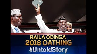 Intrigues that surrounded Raila Oding's swearing in ceremony | THE UNTOLD STORY