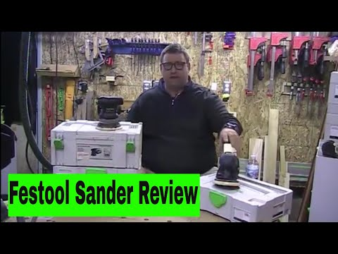 Festool Sander Review – What you need to know about these high $$ sanders