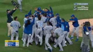 Last play from every World Series 1980-Present