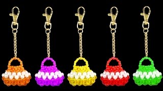 DIY - How To Make a Keychain Simple And Easy At Home || Beaded Keychains