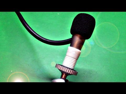 Почти студийный микрофон 🎙 своими руками ⚒