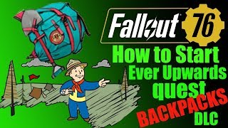 Fallout 76 How To Complete The Order Of The Tadpole Quest And Get Backpack,  Pioneer Scout