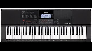 Casio CT-X700 Review / Overview / Demo