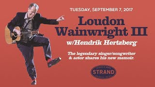 Loudon Wainwright III + Hendrik Hertzberg   Liner Notes