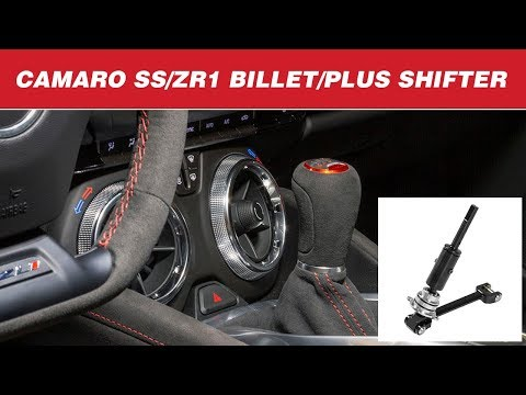 2016-19 Camaro SS, ZL1 6.2L - Hurst Billet/Plus Manual Shifter 3916047