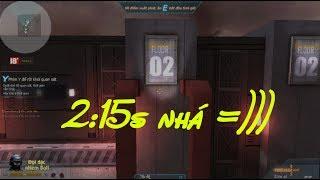 """Truy Kích - Vượt map Parkour 3 chỉ với 2:15 giây """" Cơ sở bí mật dễ """""""