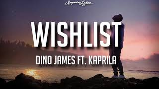 Dino James – Wishlist feat Kaprila (Lyrics) - YouTube