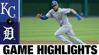 Starling Lifts Royals To A 5-3 Victory | Royals-Tigers Game Highlights 7/30/20
