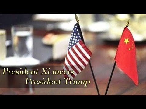 Live: President Xi meets President Trump at Great Hall of People习近平会见特朗普