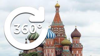 Прогулки по Москве // Панорамное видео 360°