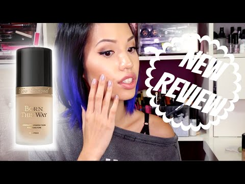 NEW | TOO FACED BORN THIS WAY FOUNDATION REVIEW