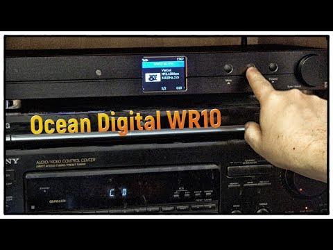 Ocean Digital WR10   WiFi Internet Radio Tuner   Hi-Fi Ethernet Bluetooth Receiver   DAB+/DAB/FM